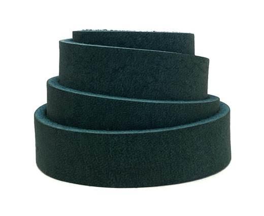 Pull-up Leather-Vetleder-Fettleder-TURQUOISE-15mm