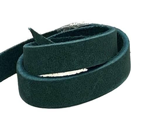 Pull-up Leather-Vetleder-Fettleder-TURQUOISE-10mm