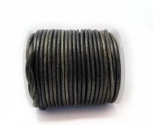 Round Braided Bolo Cords - 4mm - vintage black
