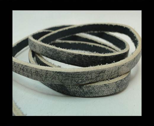 Buy Vintage Style Flat Leather - 5mm-Grey at wholesale prices