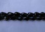 Water Glass Beads -8mm*11mm-Black Quartz