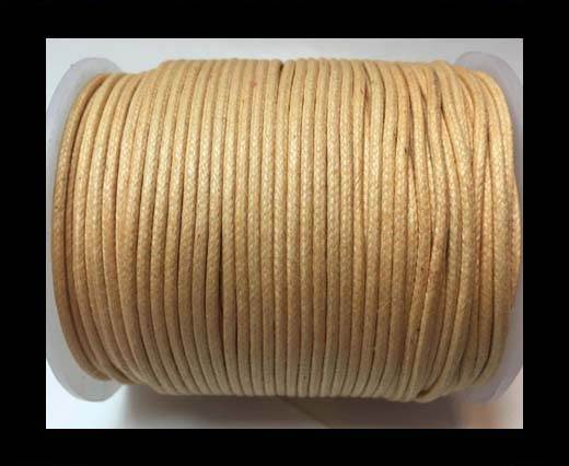 Wax Cotton Cords - 1,5mm - Natural