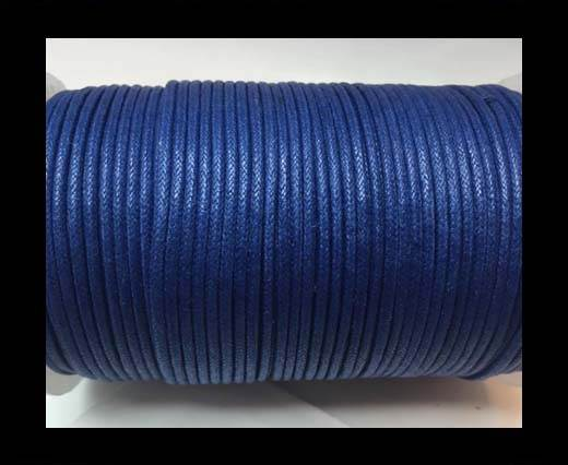 Wax Cotton Cords - 1mm - Blue