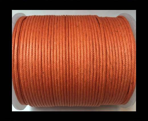 Wax Cotton Cords - 1mm - Orange