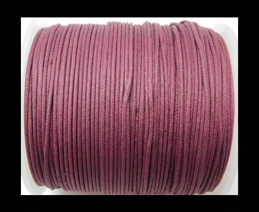 Wax Cotton Cords - 1mm - Burgundy