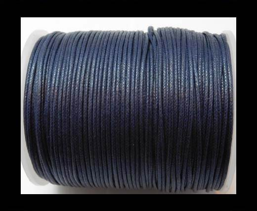 Wax Cotton Cords - 1mm - Navy Blue