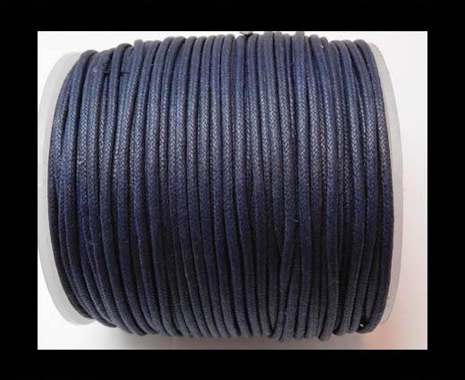 Wax Cotton Cords - 1,5mm - Navy Blue