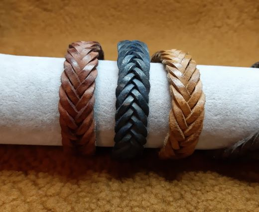Leather Bracelets Supplies 15mm*4mm-3