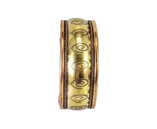 Brass Cuffs - SUNBC09 -Designer