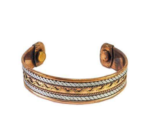Brass Cuffs - SUNBC12 -Designer