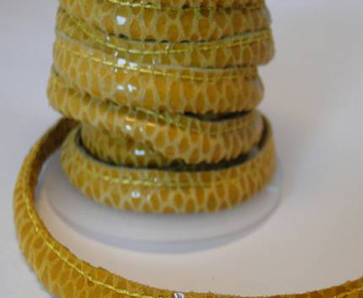 Buy Leather-Reptile-RSPS-05-Yellow at wholesale prices