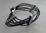 Handmade Leather bracelet Zamac-Finish-BH11