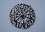 Zamak Silver Plated Beads CA-3065