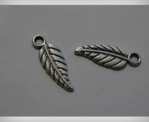 Zamak Silver Plated Bead CA 3099