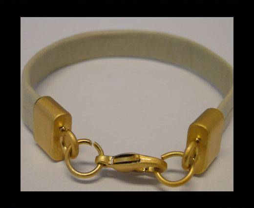 Zamak Lobster Claw Clasp ZAML-03-10x3mm-Gold Plated Lock