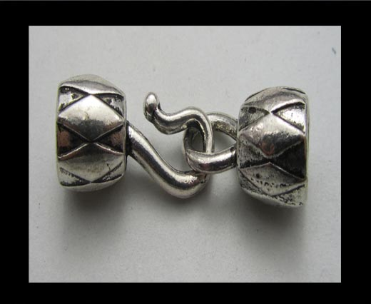 Buy Zamak magnetic clasp ZAML-34 at wholesale prices