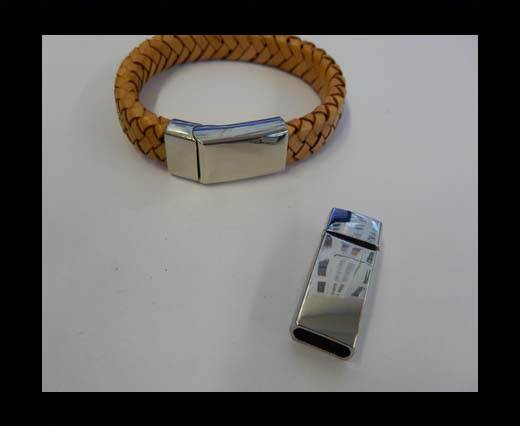 Buy Zamak magnetic clasp ZAML-66-10.5*5.5MM-Steel at wholesale prices