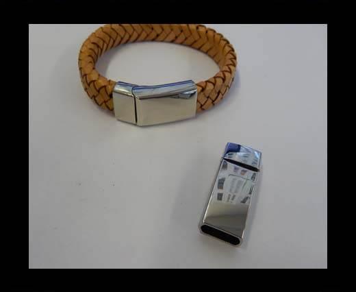 Zamak magnetic clasp ZAML-66-10.5*5.5MM-Steel
