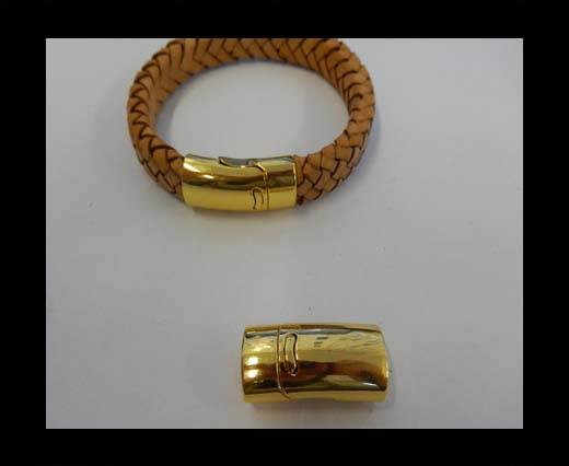 Buy Zamak magnetic clasp ZAML-78-10*6.5MM-Gold at wholesale prices