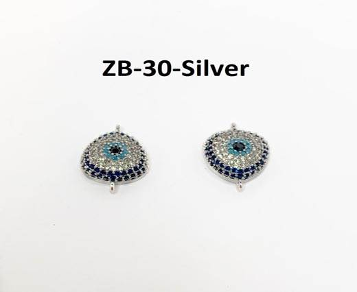 ZB-30-Silver 17*11mm