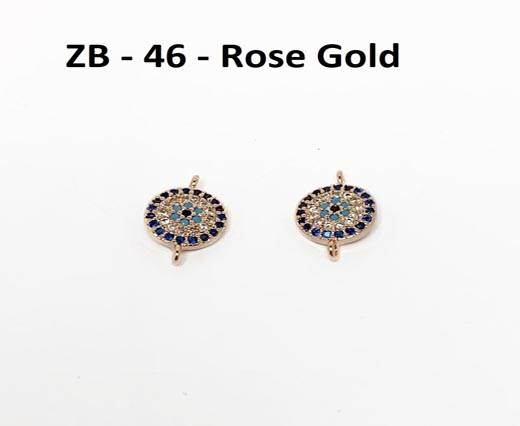 ZB-46 Rose Gold 8mm